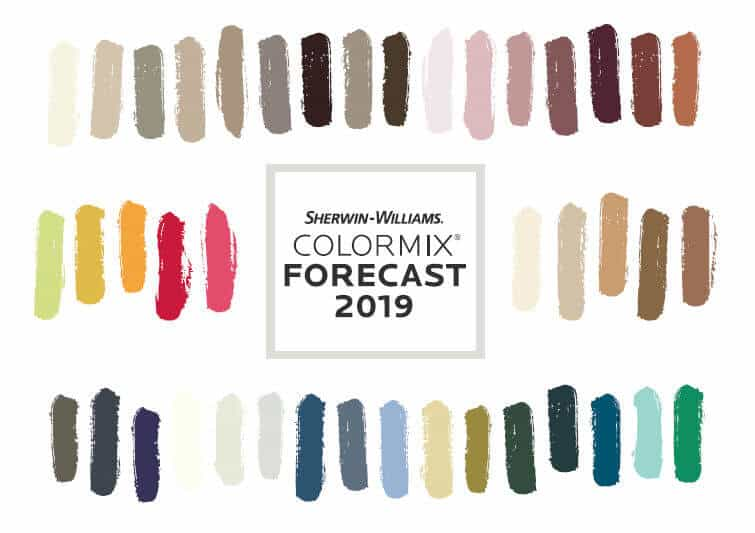 colormix 2019 from sherwin-williams