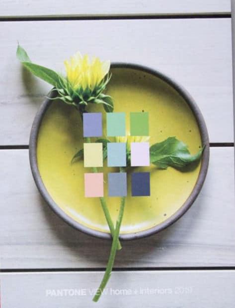 pantone shares the 2019 home+interiors go-to colours | @meccinteriors | design bites