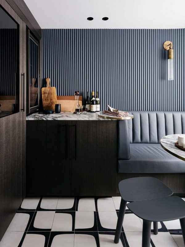 #tuesdaytrending: ribbed surfaces invite tactility and depth | @meccinteriors | design bites
