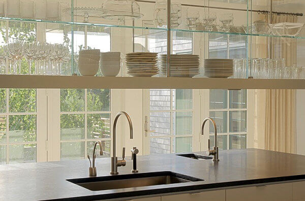 Open Up Your Kitchen With Suspended Shelving Mecc