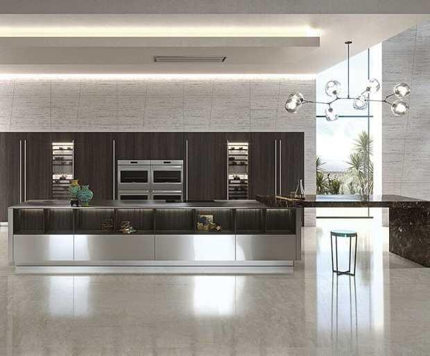 Elegante Bespoke Is Perfect For Luxury Modern Kitchens Mecc Interiors Inc
