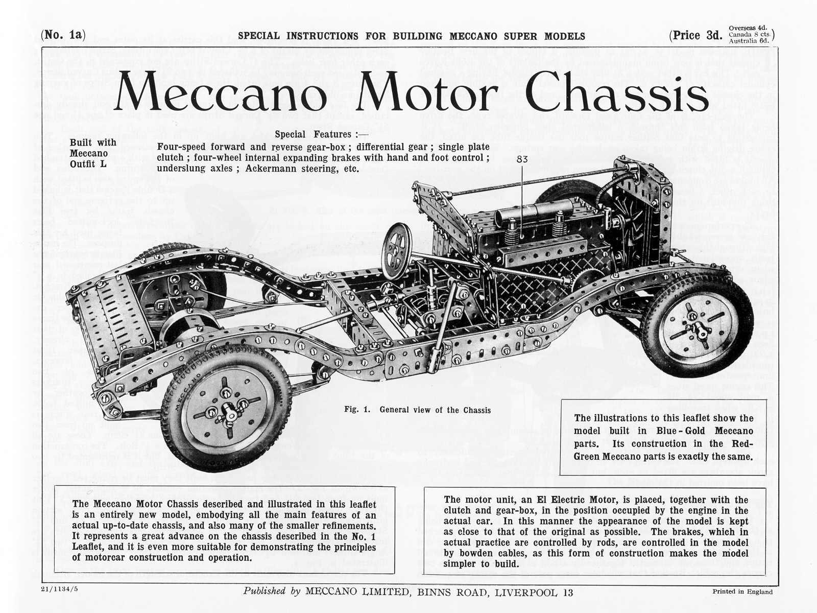 Meccano Super Models