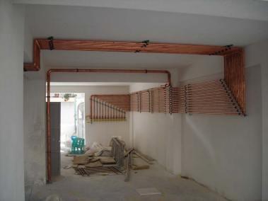 Εγκατάσταση  φυσικού αερίου σε πολυκατοικία