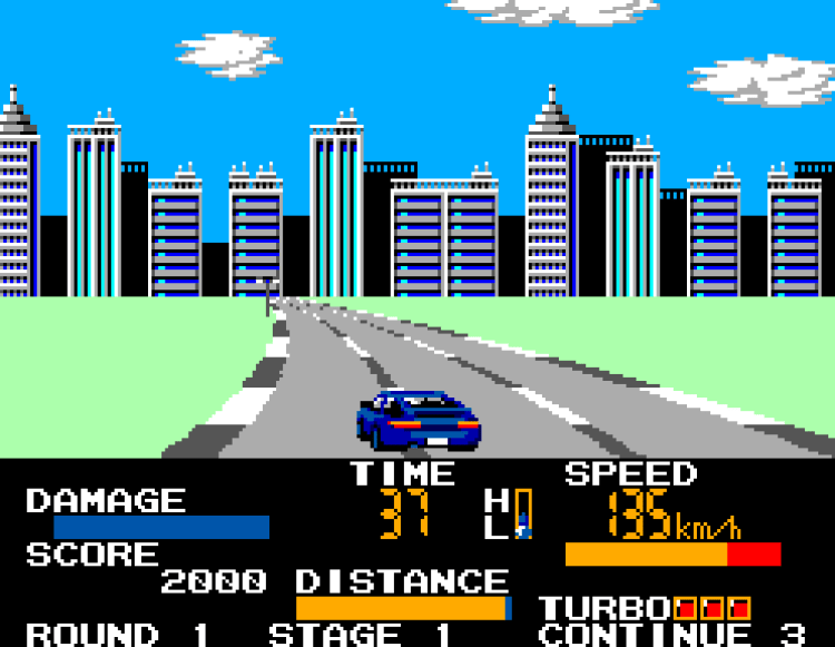 The Master System version of Chase Hq was one that swapped detail for colour