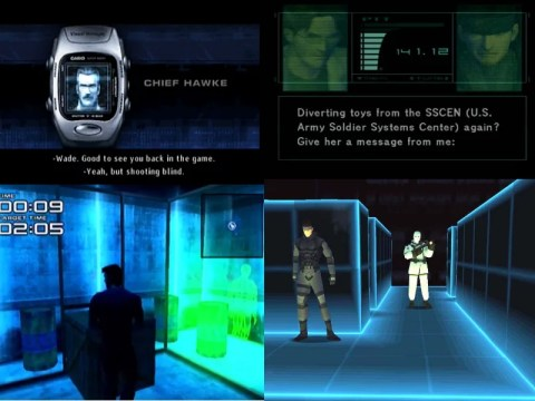 Headhunter and Metal Gear Solid comparisons