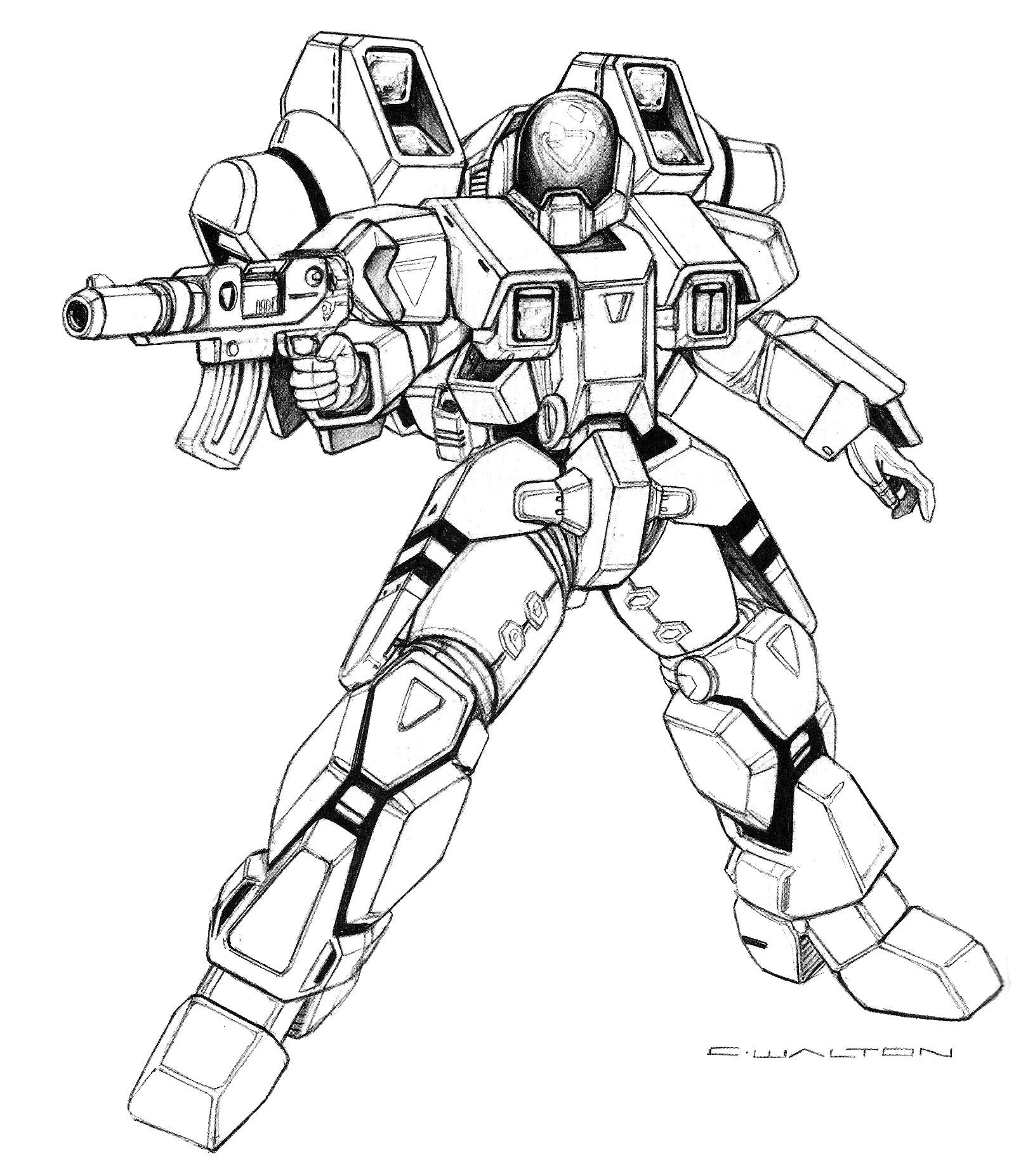 Cba 07 M4 04 Walker Personal Power Armor