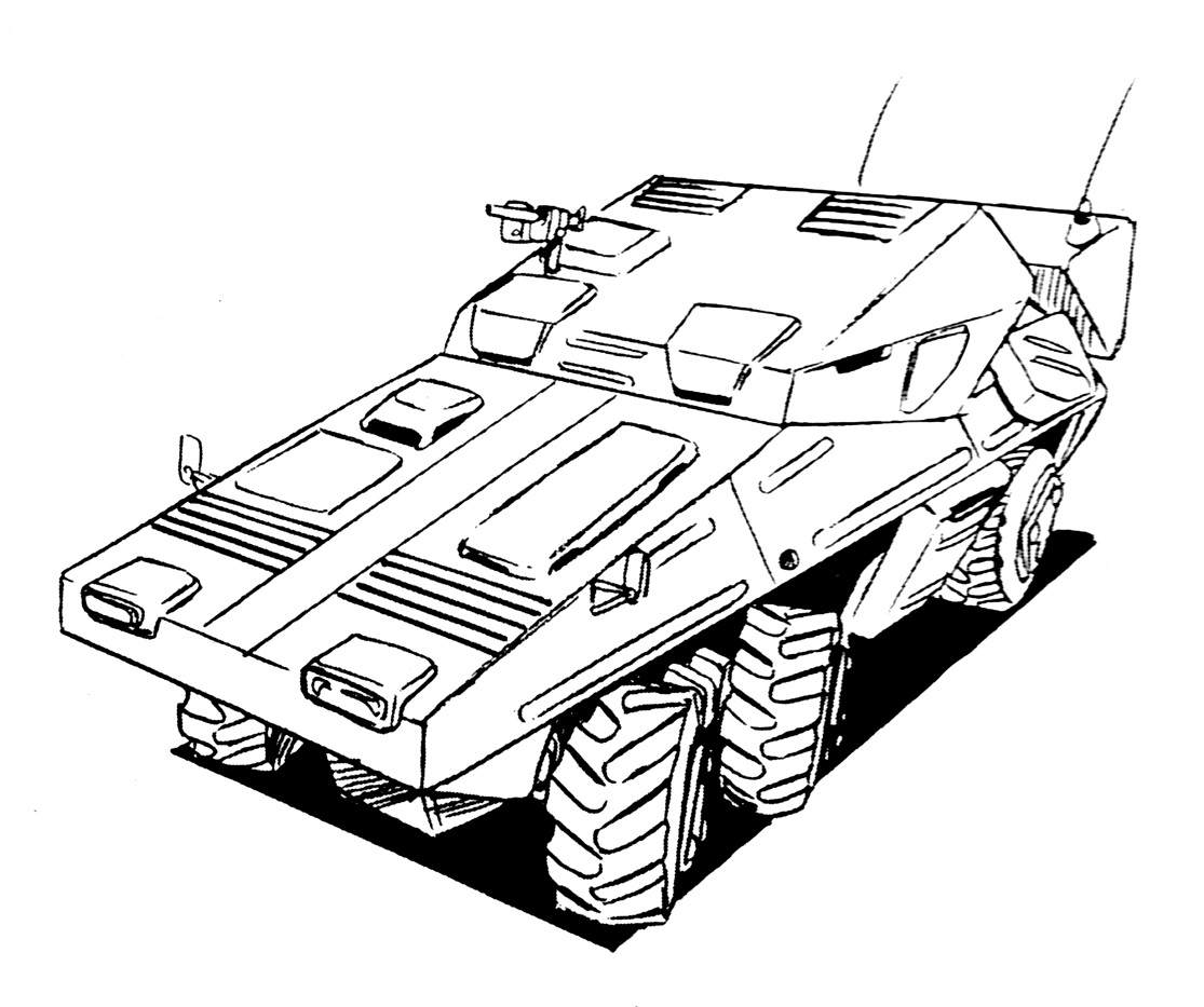 Us Armored Personnel Carrier