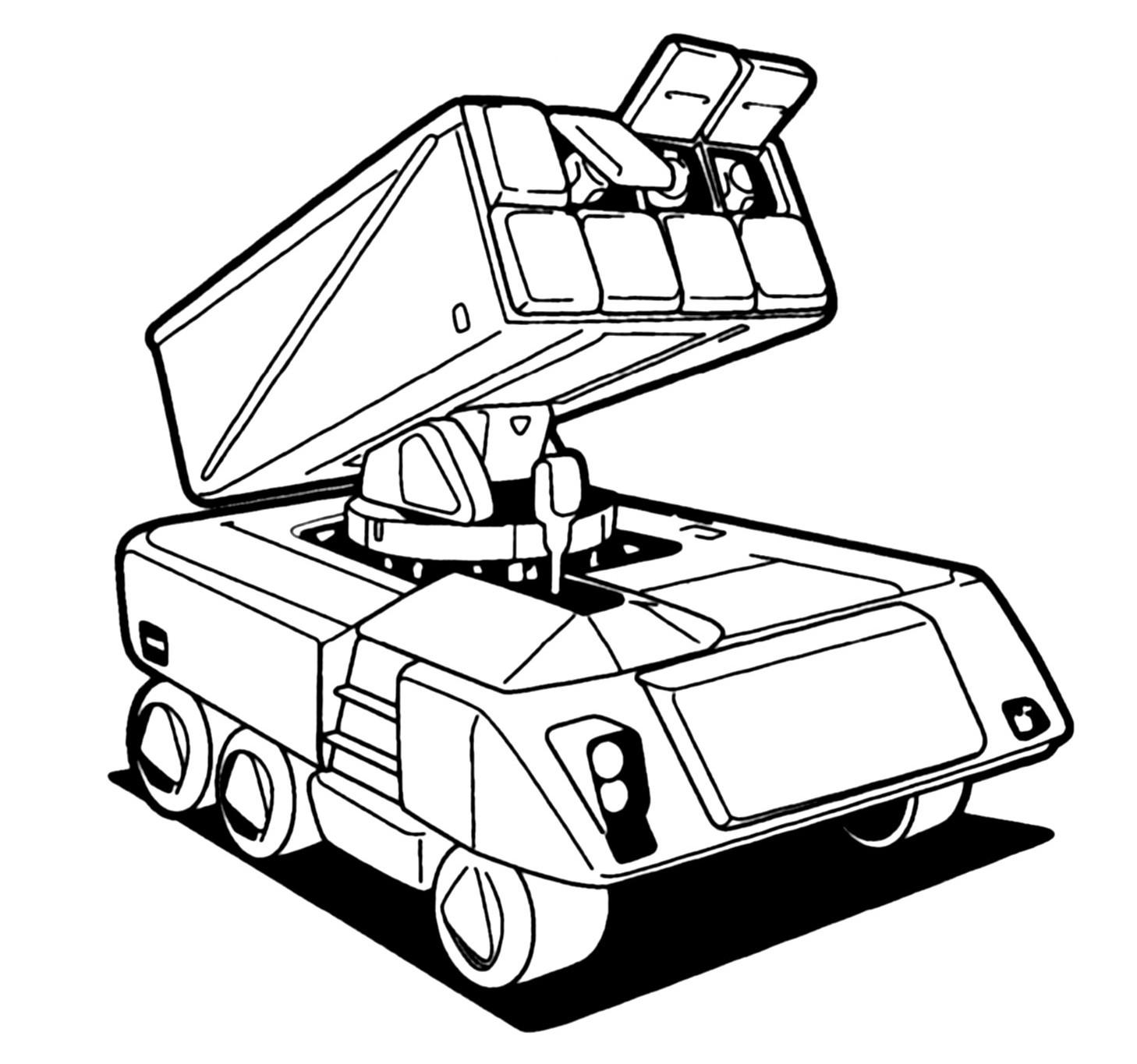Oerlikon Contraves M 400 Arbalist Missile System