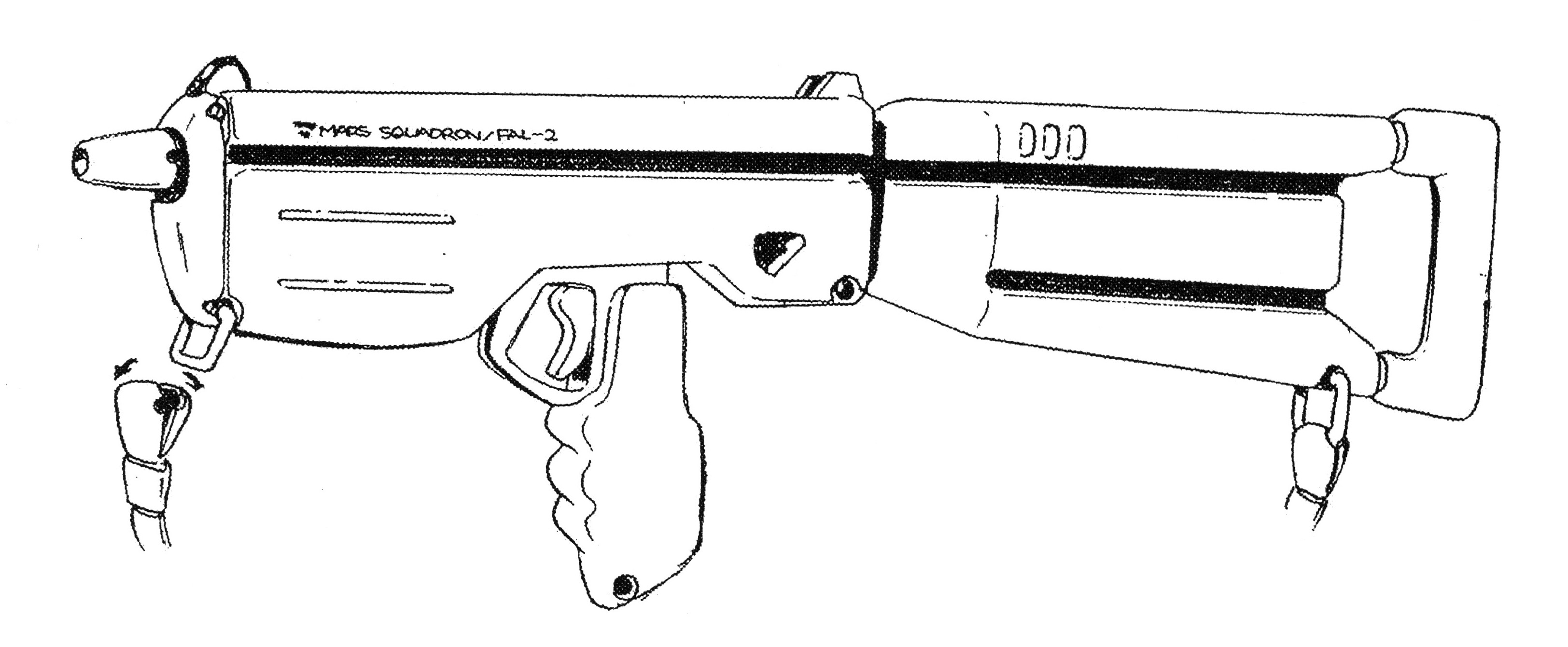 Tiresia Rrg Fal 2 Pulse Laser Rifle