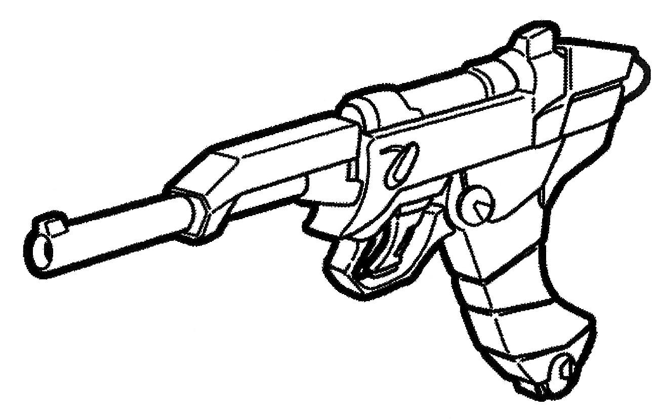 Monument Rrg Lp 09 12 7mm Cap Lightweight Pistol