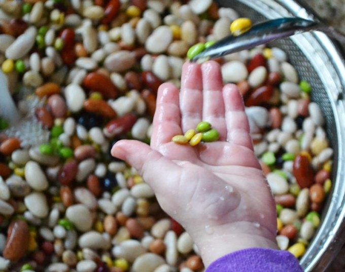 bean-hand