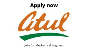 Atul Limited Hiring | Mechanical Maintenance Engineer | Diploma in Mechanical Engineering |