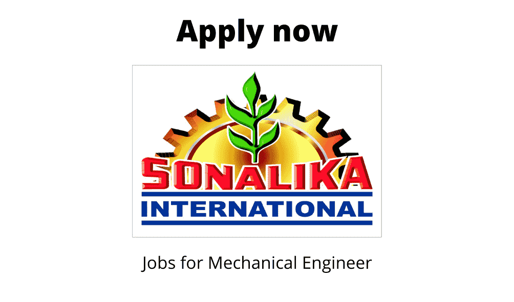 International Tractors is Hiring | Field Officer – Trainee | Diploma/ BTech/ BE in Agriculture/ Automobile/ Mechanical |