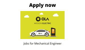 Ola Cabs is Hiring | Manager- Manufacturing Quality | Diploma/ BE/ BTech in Mechanical/ Automobile Engineering |