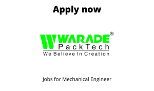 Warade PackTech Private Limited Hiring | Fresher | Trainee Design Engineer | BE/BTech in Mechanical |