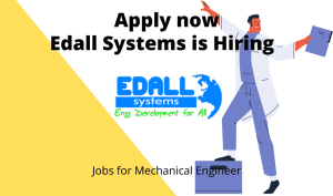 Edall Systems is Hiring | Drone Pilot | BE/ BTech in Aeronautical, Mechanical, Electronics | Freshers |