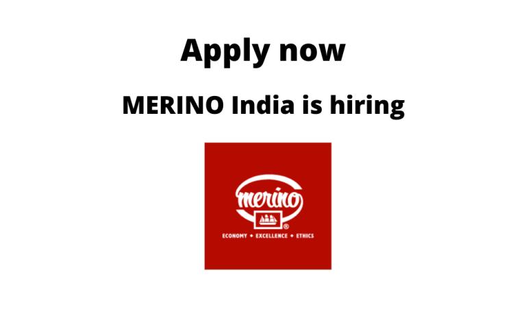 MERINO-India-is-hiring