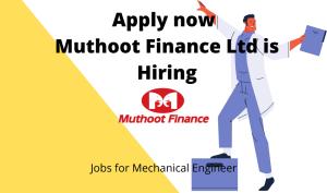 Muthoot Finance Ltd is Hiring   Freshers   Customer Care Executive   Any Graduate  