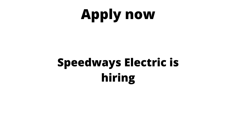 Speedways Electric is hiring | Automobile Engineering Internship | BE/ BTech in Automobile/ Mechanical |