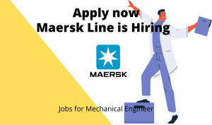 Maersk Line is Hiring   Machine Buyer   Bachelor's degree   Exp. – 3 to 7 years  