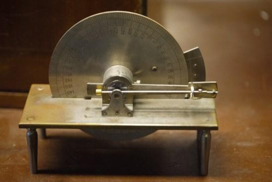 Antique watch balance screw scale