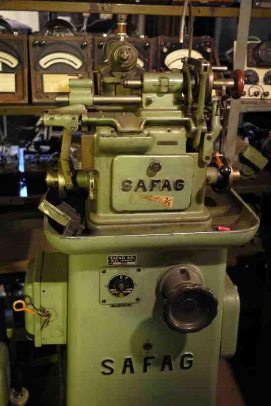 Safag pinion cutter