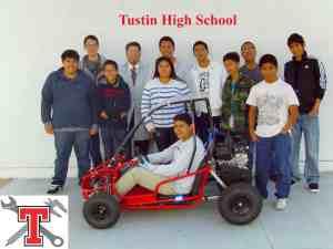 Tustin HS race team