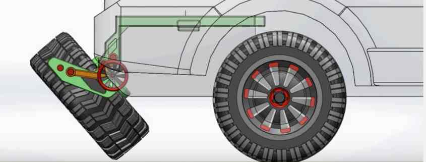 Spare Tire Linkage