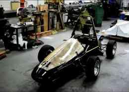 CSULA FSAE race car