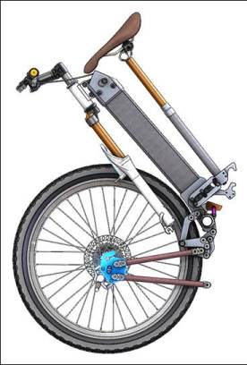 Zennen Folding Bike