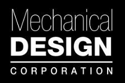 mechanical design corporation logo
