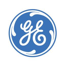 G E logo