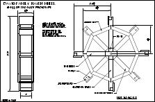 Plans For A Water Wheel Mechanical Drafting Course