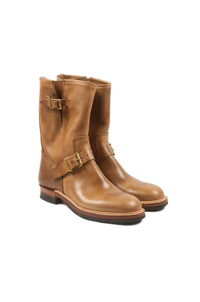 The Flat Head Goodyear Welted Engineer Boots