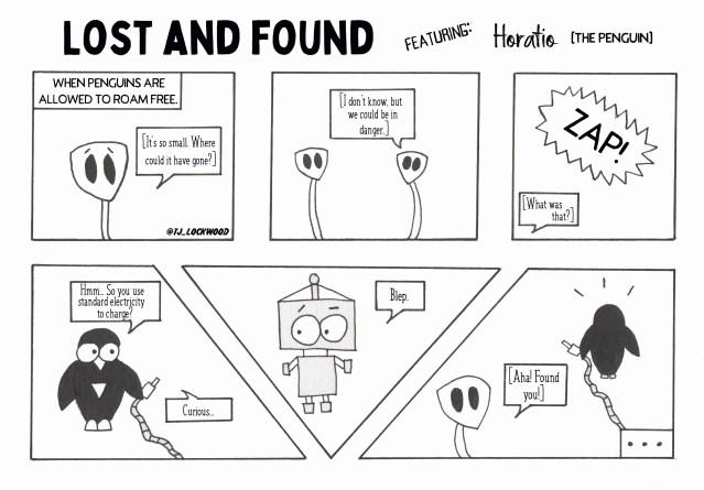 Sunday C0M!CS: Lost and Found - Mecha Panda Publishing