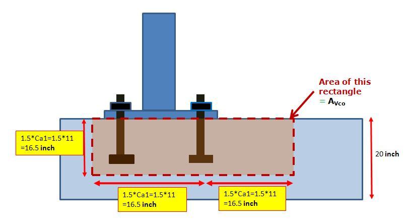 Concrete Anchor Foundation Bolt Design Calculations with