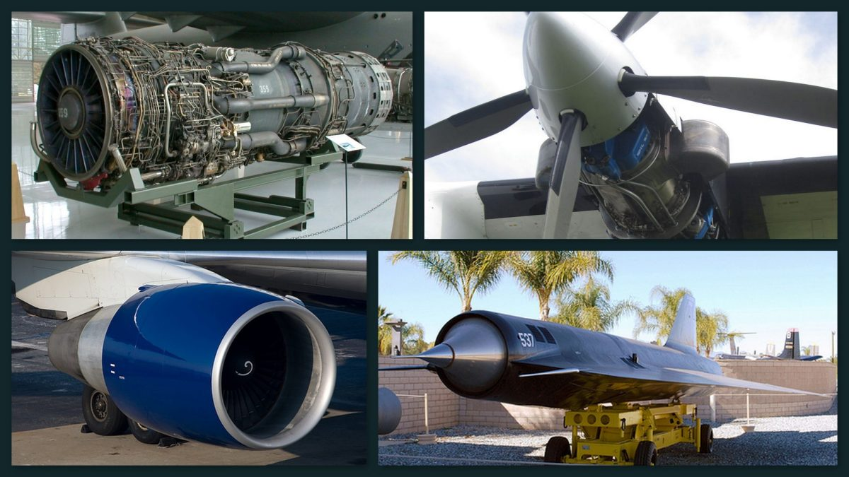 Types of Jet Propulsion Engines (animations)!