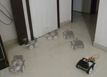 obstacle avoiding robot using arduino