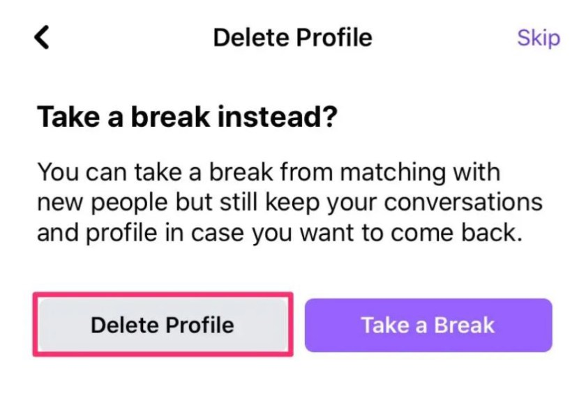How to Turn Off Facebook Dating Profile