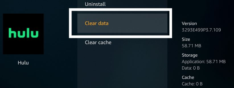 How To Clear Hulu Cache on Firestick