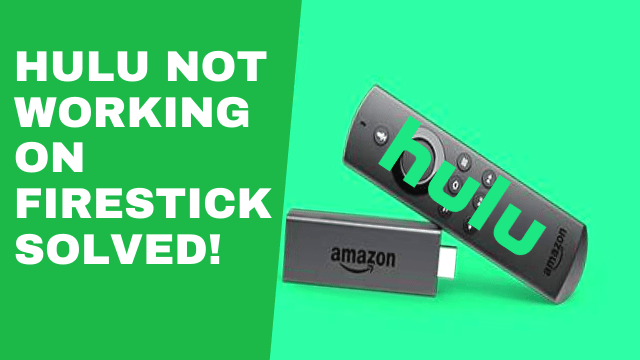 Fixes for Hulu not opening on Firestick 1