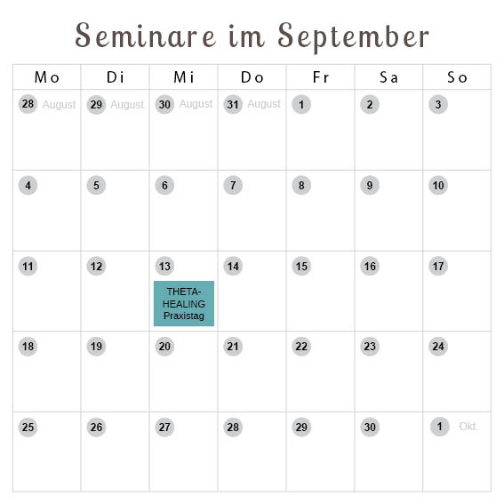 Seminare im September