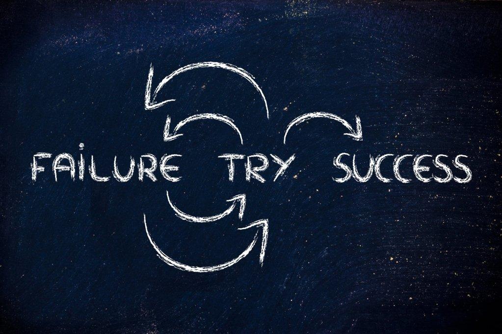 Dene başarısız ol ve başarıyı yakala