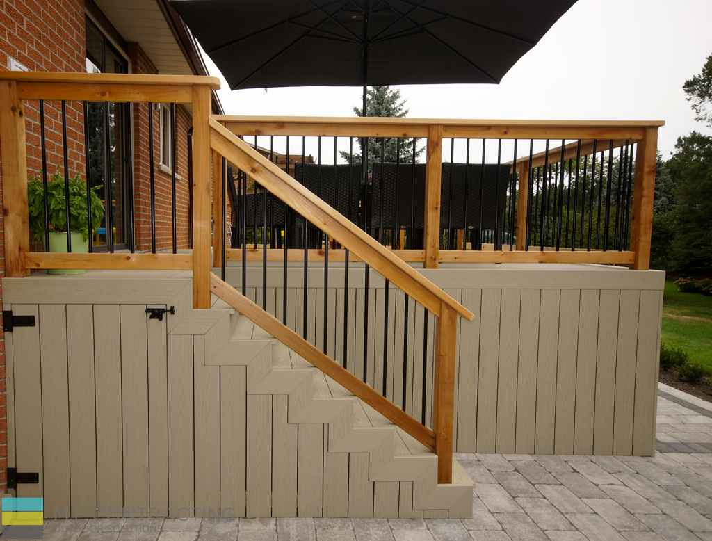 Toronto Railings Construction By M E Contracting