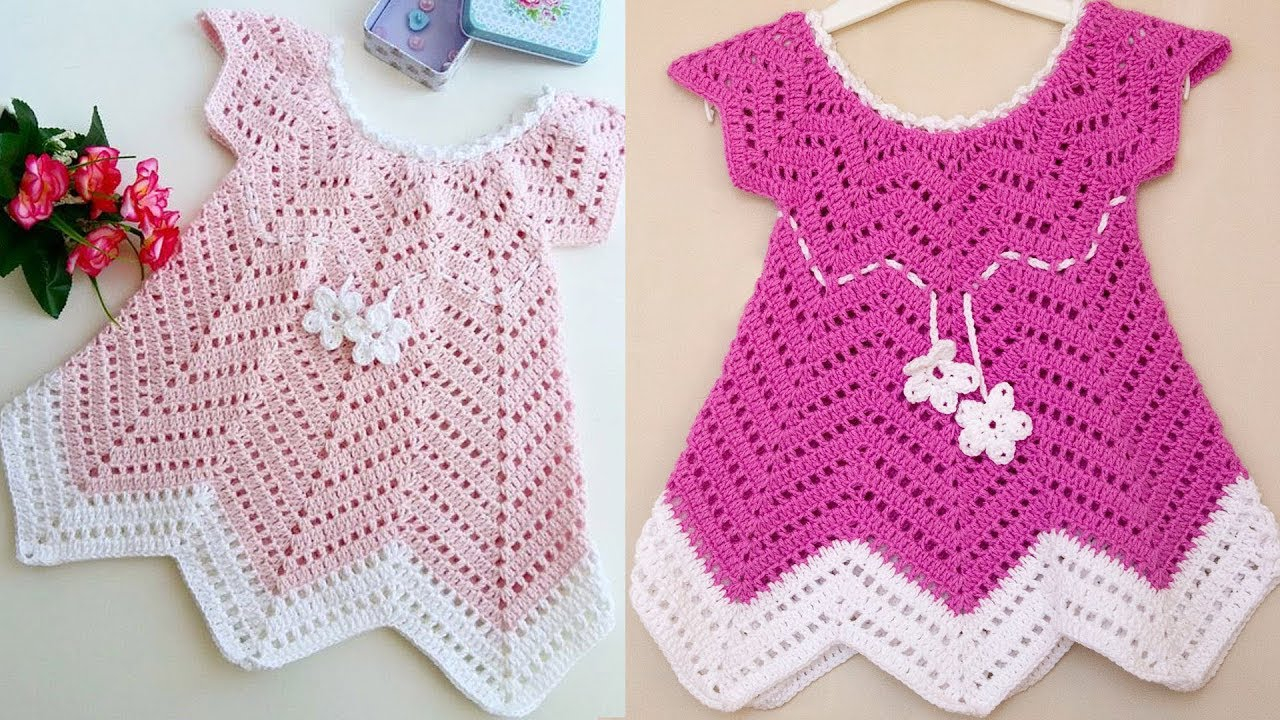 3 Cute Crochet Childrens Dress Patterns Ba Blossom Summer Dress Free Crochet Pattern Youtube