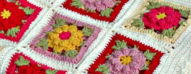 3 Inspirations of Easy Flower Crochet Pattern Vintage Flower Crochet Blanket Pattern And Kit Annie Design Crochet