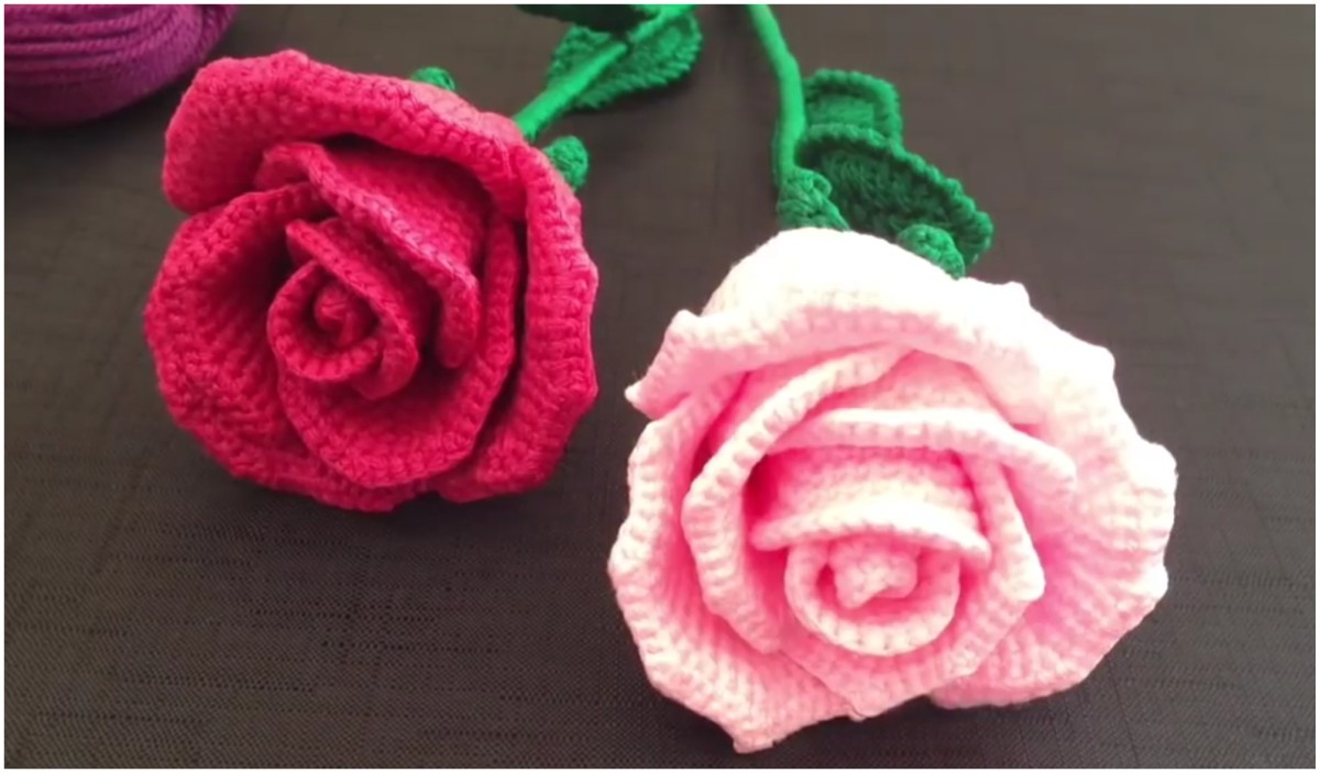 3 Magnificent Ideas of the Free Crochet Rose Afghan Pattern Simply Cozy Crochet Rose Crochet Pattern Free Styles Idea