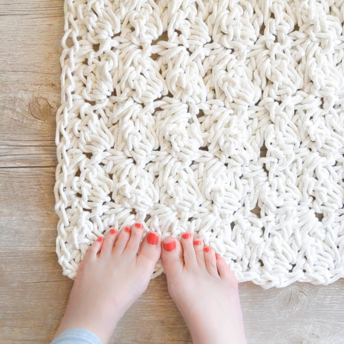 3 Motifs of Easy Crochet Oval Rug Pattern 9 Diy Rope Rug Projects To Try Apartment Therapy