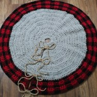3 Recommended Designs of Crochet Patterns for Pillow Covers Crochet Buffalo Plaid Tree Skirt Pillow Cover Mjs Off The Hook