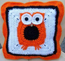 3 Recommended Designs of Crochet Patterns for Pillow Covers Happier Than A Pig In Mud Crochet Owl Pillow Cover Pattern